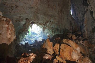 La grande galleria fossile di Tham Luang nel sistema del Nam Koang, Ban Vang Viyeng