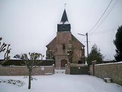 Eglise de Charonville Janvier 2010