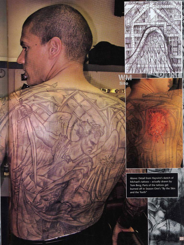 Fuentes de Información - Tatuajes de Michael Scofield