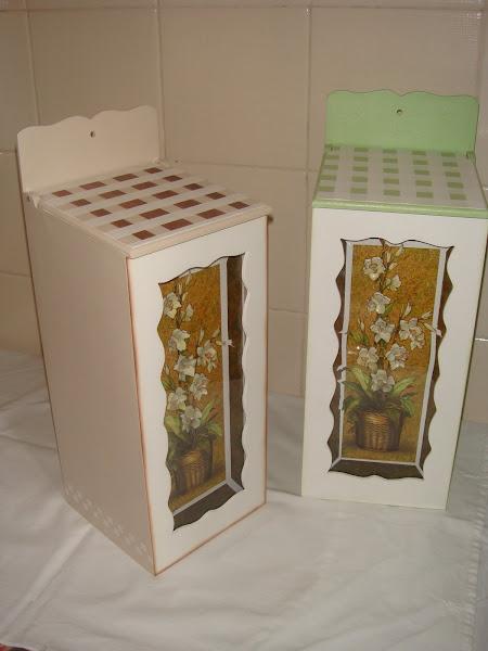 Puxa Saco Arte Francesa (c/ vidro frontal) - R$ 40,00