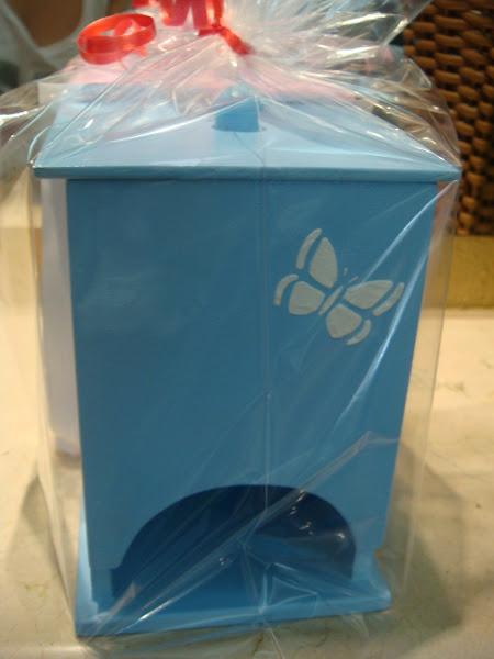 Porta Absorvente borboleta - R$ 20,00