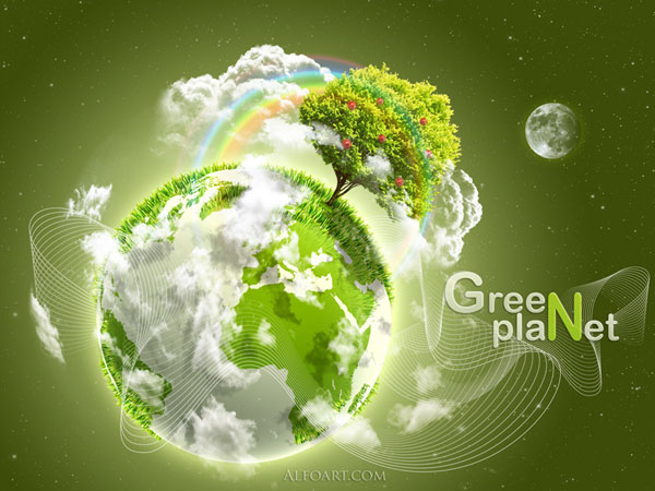 go green wallpaper. earth day wallpaper free.