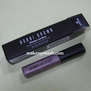 Review | Bobbi Brown Shimmer Lip Gloss in Black Pearl