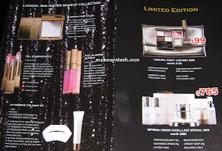 Lunasol Party Coffret 2008