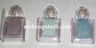 Majolica Majorca Eye Shadow Customize in SV821, GR129 and BL724