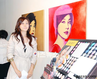 Kim Ha Neul at Clio Cosmetic Art 2009 Opening Party