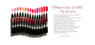 Lipstick Queen Fifteen Minutes of Fame Pop Art Gloss