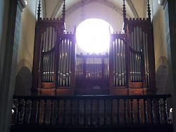 L'orgue de l'église Saint-Martin à Nolay