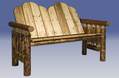 Ebay Outdoor Furniture on Rustic Log Furniture  Outdoor Patio Furniture   Log Deck Furniture