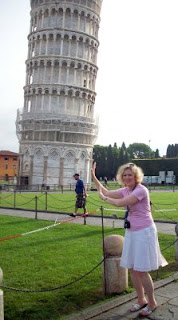Holding up the Tower of Pisa