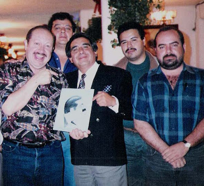 Con el Polivoz Eduardo Manzano