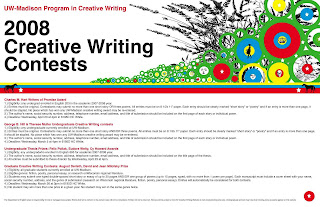 Uw madison creative writing
