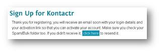 Contact Admin Di Blog