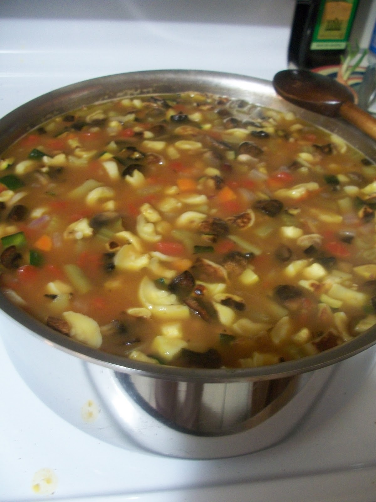 The Edible Givens: Roasted Vegetable Minestrone