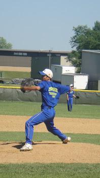 Atleta Hara como Pitcher