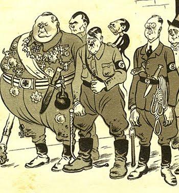 Борис Ефимов: Гитлер и его банда