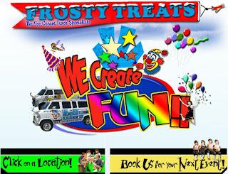 Frosty Treats - фургоны для торговли мороженым