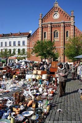 Блошиный рынок в Брюсселе