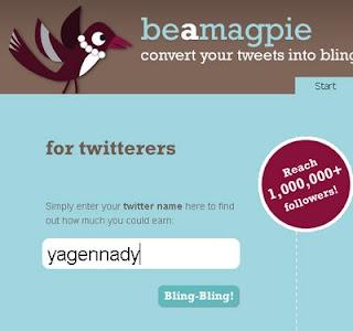 Magpie - программа заработка для Twitter