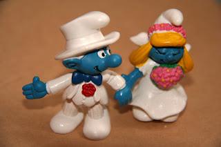 свадьба смурфов