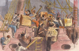 The Boston Tea Party & The Intolerable Acts