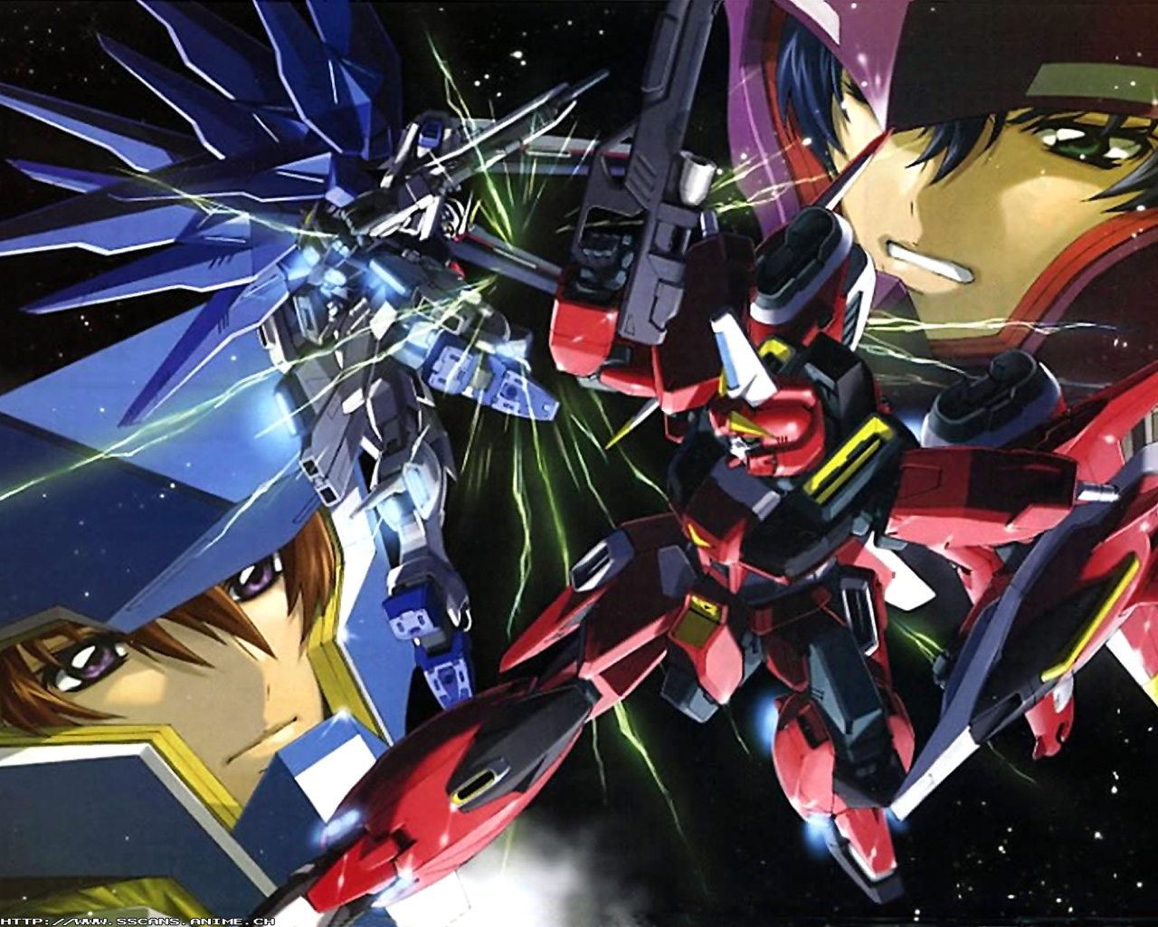 Anime Wallpaper: Gundam Seed