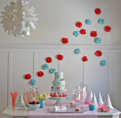 Ch no jardim casamentos e inspira es festa do moranguinho for 3 cakewalk terrace