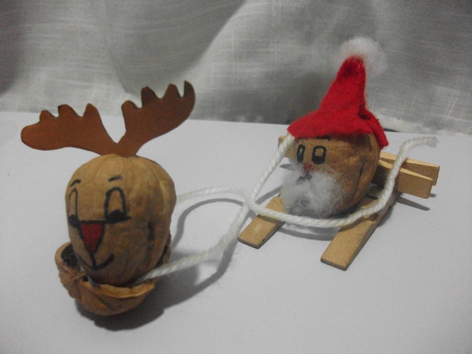 El blog de lorenna decora la mesa de navidad con animalitos - Cascara nueces para decorar ...