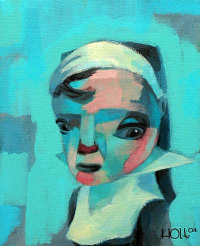 Blue Nun Acrylic on Canvas 2004