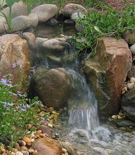 Jardines En Verano Cascadas Y Estanques Para Nuestro Jardin