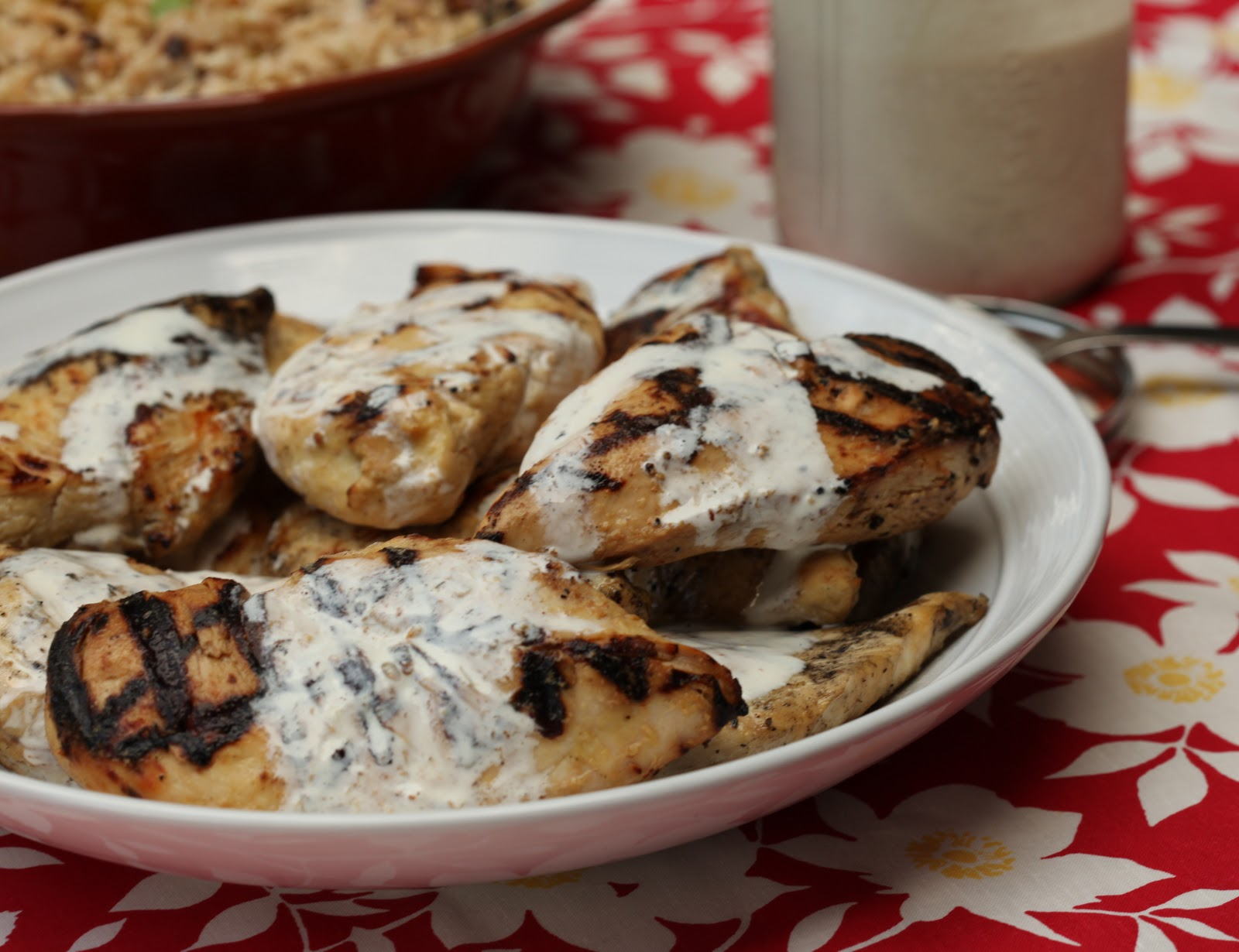 Cornell Chicken (Grilled Chicken With White Barbecue Sauce) Recipe ...