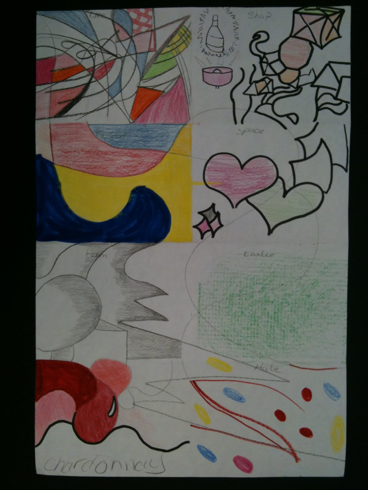 visual art at william hall academy 2008 - 2011: elements of art