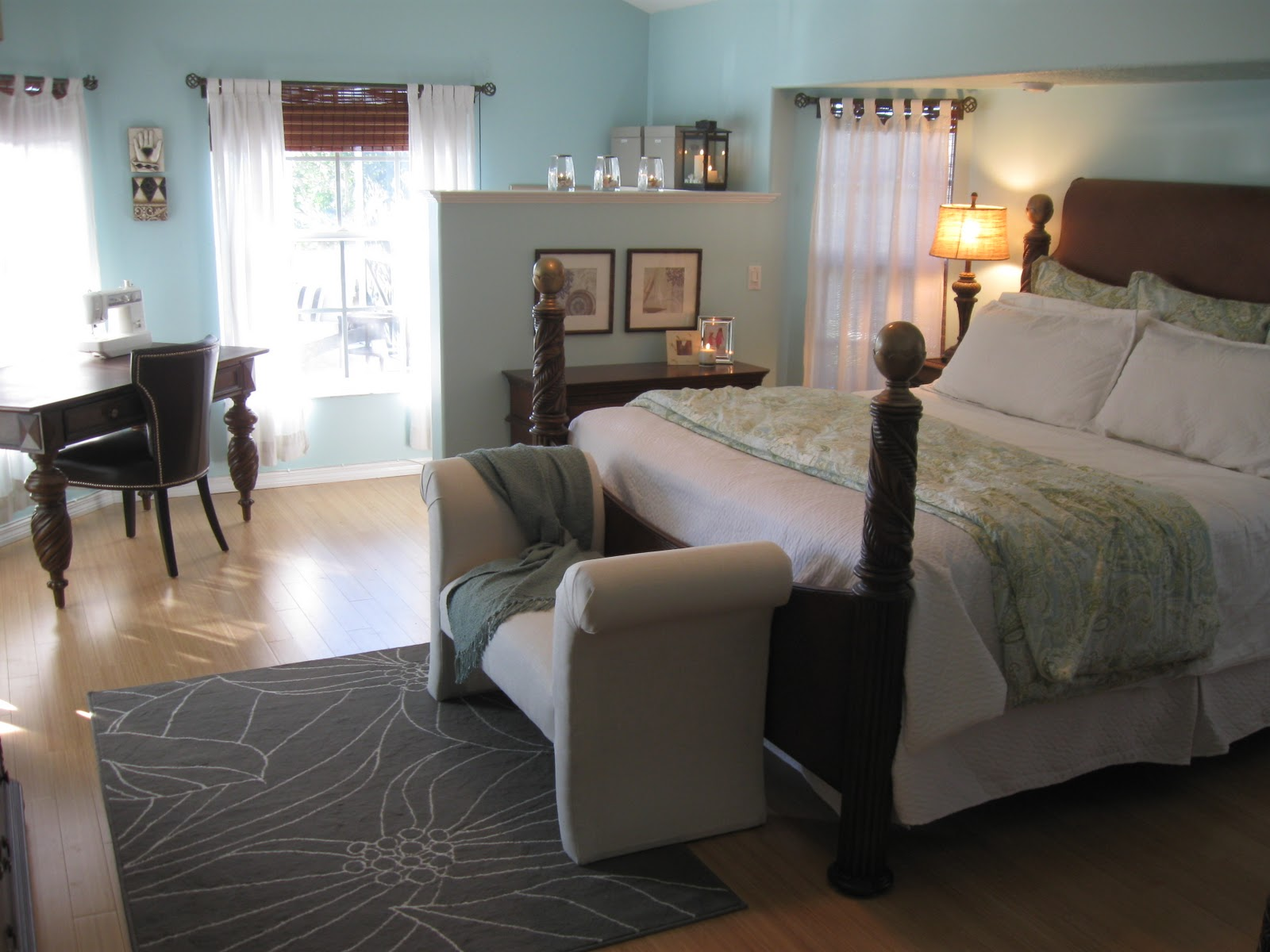 Beachy Master Bedroom Remodel Living Well Spending Less