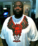 RICK ROSS IN GUARDIAN TEE BY EXCLUSIVE GAME! CLICK ON CLOTHING TO BUY NOW!