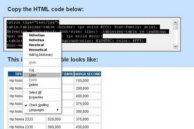 blog pada Edit Html. Lalu paste dan Publish atau terbitkan entri