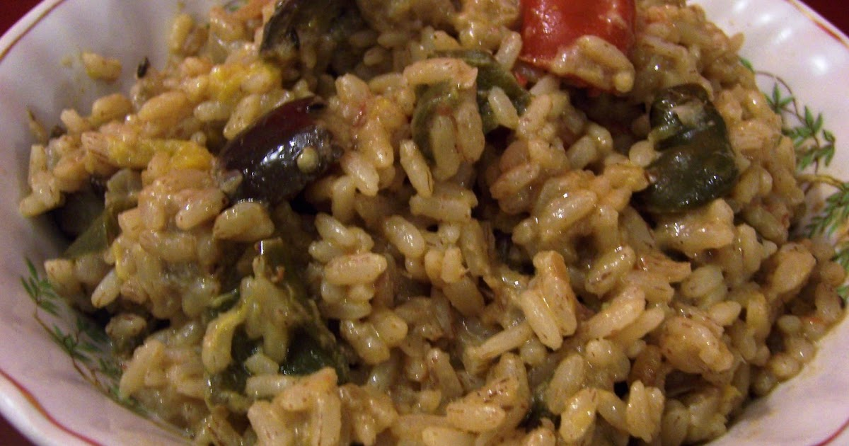 Peppermill: Creamy Curried Eggplant and Pumpkin Risotto