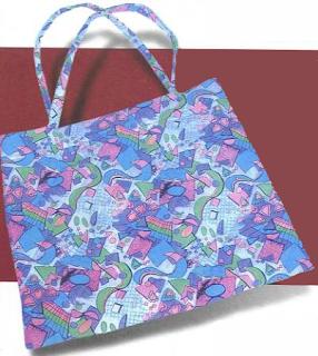 модная сумки из ткани на длинном ремне
