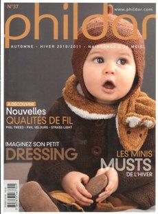 Phildar №37 Automne-hiver 2010-2011 Naissance a 24 mois