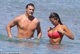 Her bikini his bulge