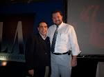 Fábio Lais com Prof. Marins