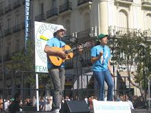 Puerta de Sol   DÍA MUNDIAL DE LA SALUD MENTAL 2007