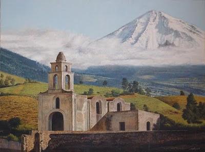 paisajes mexicanos al oleo