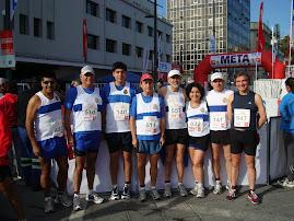 los runner´s UC en el 1/2 Maraton de Valparaiso