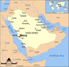 map of macca
