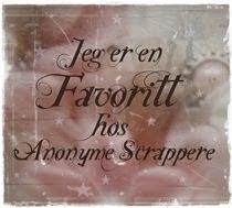 Jeg var med i topp 6 hos Anonyme Scrappere #12!