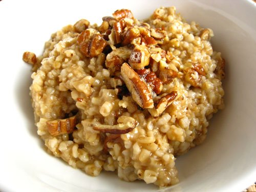 Butter Toasted Pecan Oatmeal