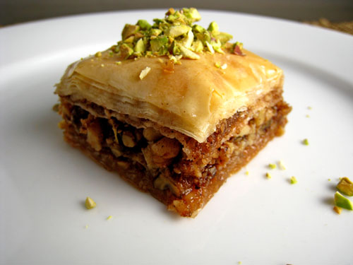 Baklava on Closet Cooking