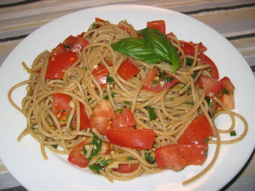 Fresh Tomato Pasta