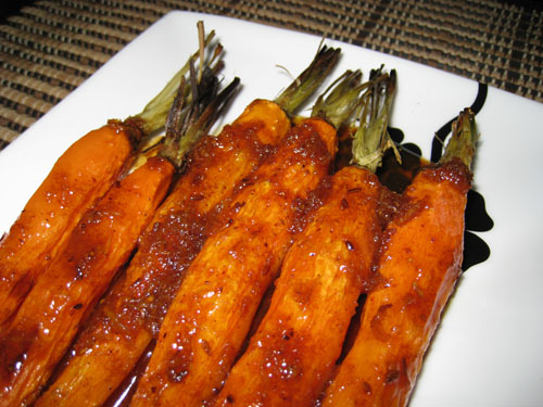 Candied Carrots on Closet Cooking