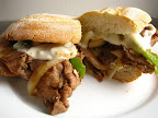 Philly Cheese Steak Sandwich